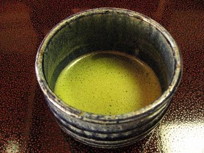 清流荘 お抹茶